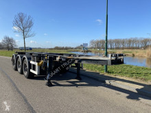Semi remorque LAG 3-Axle Chassis / BPW / 20 FT Tankchassis / NL Trailer porte containers occasion