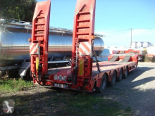 Trailer Faymonville PORTE ENGIN 67 TONNES 4 ESSIEUX GIGANT SUSPENSIONS AIR tweedehands dieplader