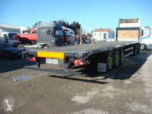 Trailer platte bak Fruehauf PLATEAU 38T SUSPENSIONS AIR FREINS A DISQUES