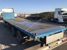 Samro flatbed semi-trailer SD33WHVE 2x stuuras BPW / Twistlocks