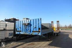 Lohr Semi Trailer / Steel suspension / Loading Ramps semi-trailer used heavy equipment transport