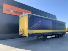 Semirremolque Krone Mega, SAF+DISC (intradisc), NL-trailer, MOT: 01/2022, XL-Plane lonas deslizantes (PLFD) usado