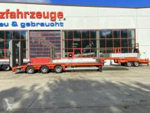 Faymonville heavy equipment transport semi-trailer 3 Achs Tieflader komplett überfahrbarFür Staple
