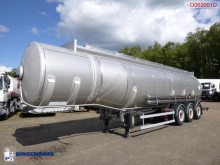 Semiremorca Maisonneuve Fuel tank inox 37.6 m3 / 7 comp cisternă second-hand