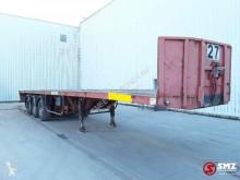Robuste Kaiser flatbed semi-trailer Oplegger Lames/lourde!!SteelSpring HEAVY