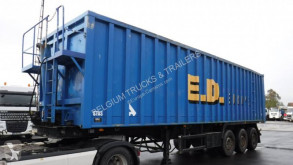 Stas 60m3 semi-trailer used scrap dumper