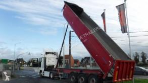 Granalu 28m3 semi-trailer used half-pipe