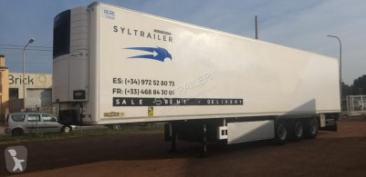 Chereau multi temperature refrigerated semi-trailer CSD3C040