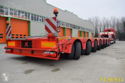 Kässbohrer heavy equipment transport semi-trailer SLH 8 Low-bed