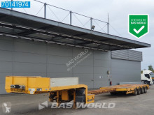 ES-GE 4.SOU-25-40.4N 660cm Extendable 4x Hydr.Steeraxle semi-trailer used heavy equipment transport