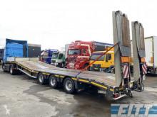 MAX Trailer semi met dubbele hydr kleppen en hydr hefbed voor heftrucks/verreikers semi-trailer used heavy equipment transport