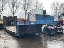 Semirimorchio trasporto macchinari S34 Low Loader 8 Tyre Full Spring 34.T Good Condition
