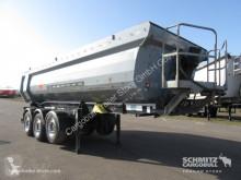 Schwarzmüller tipper semi-trailer Kipper Stahlrundmulde 23m³