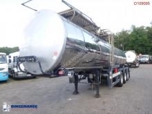 Semirimorchio Clayton Food tank inox 23.5 m3 / 1 comp cisterna trasporto alimenti usato