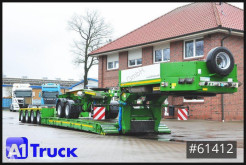 Faymonville heavy equipment transport semi-trailer STBZ-4VA, 4+2 Tele, Extandable, Dolly, super low