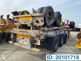 Fruehauf Skelet 20 ft semi-trailer used container