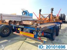 Fruehauf container semi-trailer Skelet 2 x 20-40 ft