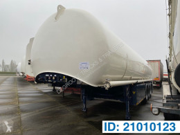 Schrader Tank 44900 liter semi-trailer used chemical tanker