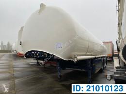 Semi remorque Schrader Tank 44900 liter citerne produits chimiques occasion