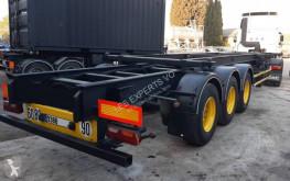 Naczepa do transportu kontenerów Trouillet CHARIOT COULISSANT