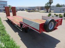 Lecitrailer heavy equipment transport semi-trailer renforcé 3 essieux neuve