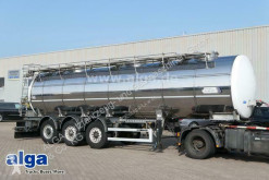 Wielton NS-3D, Isoliert, Edelstahl, 30m³, 3 Kammern semi-trailer used food tanker