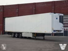 Schmitz Cargobull mono temperature refrigerated semi-trailer SCB*S3B Hooks / Rohrbahnen / Vleeshang ThermoKing SLX300 -