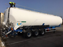 Feldbinder semi-trailer used food tanker