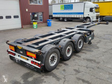 Trailer Broshuis 3UCC-39/45 3-Assen SAF - Schijfremmen - Liftas - Naloopas - TOP! - 06/2021 APK (O527) tweedehands containersysteem