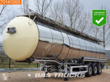 Feldbinder TSA 47.3-3 Chemie ADR 47.000 Ltr / 3 / semi-trailer used chemical tanker