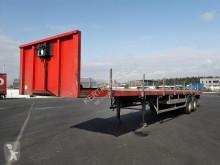 Sættevogn Lecitrailer PLATEAU PORTE FER PLATEAU PORTE FER 2 ESSIEUX flatbed brugt