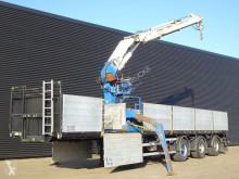 Floor flatbed semi-trailer FLO 17 30H / HIAB R-300 CRANE / KRAN