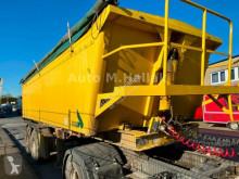 Stas tipper semi-trailer Voll Alu Mulde 21m³ BLATT / SPRING
