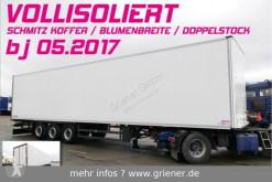 Semi remorque fourgon double étage Schmitz Cargobull SKO 24/ DOPPELSTOCK / BLUMEN FP 45 VOLLISOLIERT