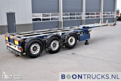 Trailer containersysteem Broshuis 3UCC-39/45 | 2x20-30-40-45ft * DISC BRAKES * MULTI CHASSIS