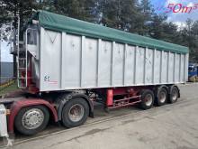Benalu self discharger semi-trailer 50m³ GROSS VOLUME ALU KIPPER / BIG VOLUME TIPPER -- AIR SUSPENSION / LUFTFEDERUNG - TROMMELBREMSEN / DRUM BRAKES