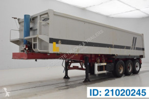 LAG 30 cub in alu semi-trailer used tipper