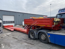 Semi remorque Danson 2 AS - EURO - BED 6,10 + 5,00 METER porte engins occasion