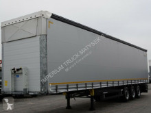 Schmitz Cargobull tarp semi-trailer CURTAINSIDER / LIFTED ROOF & AXLE / 2018 YEAR/XL