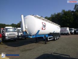 Feldbinder tanker semi-trailer Powder tank alu 63 m3 (tipping)
