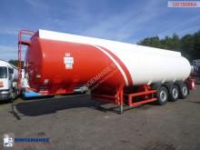 Cobo Fuel tank alu 38.4 / 6 comp + counter semi-trailer used tanker