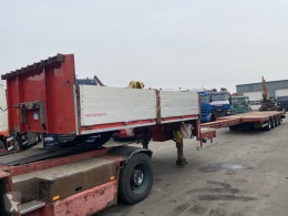 Danson heavy equipment transport semi-trailer 4 AS - BED 9,30 + 6,50 METER