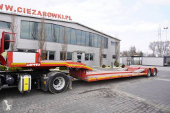 Camro heavy equipment transport semi-trailer CNR26.20B TIEFBETT, Unbuttoned