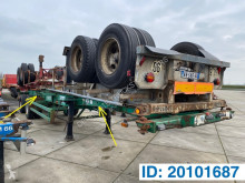 Naczepa Fruehauf Skelet 2 x 20-40 ft do transportu kontenerów używana
