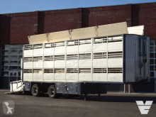 Lako cattle semi-trailer Knapen 3 Stock Livestock Trailer, NEW TUV/APK