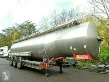 Magyar Edelstahl Inox *39.520 Liter *ADR 08.2021* semi-trailer used tanker