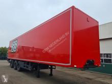 Félpótkocsi Pacton Gesloten oplegger MBB Laadklep 2000KG / Inwendig: 1350 x 250 x 263 használt furgon