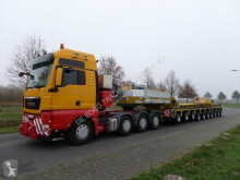 Semi reboque porta máquinas Goldhofer STHP Gooseneck + THP SL 4 and 6 Axle Modules + Dropdeck and RA2 Adaptor