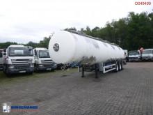 Magyar Chemical tank inox 35 m3 / 4 comp semi-trailer used chemical tanker