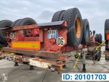 Skelet 2 x 20-30-40 ft semi-trailer used container